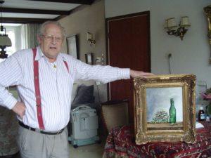 De meester met zijn schilderij